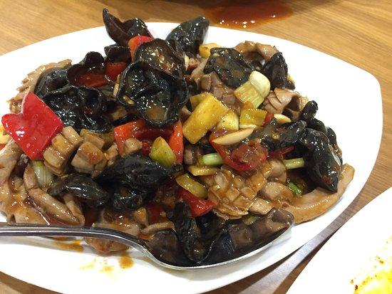 Lomita, CA: 11. Pork Kidney with pickled pepper 腰花
