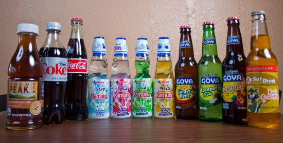Fort Atkinson, WI: A variety of our international and domestic sodas