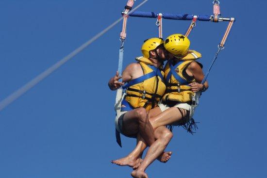 Taupo, New Zealand: Happy honeymooners!!