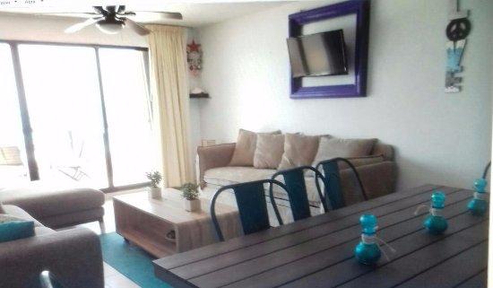 TERRAZA SALA Y COMEDOR.... - Picture of Villas Marlin, Cancun ...