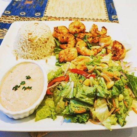Jumbo Shrimp Kebab