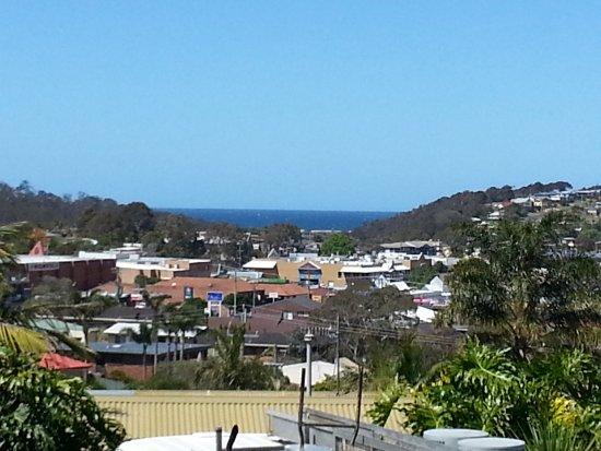 Merimbula, Avustralya: View from second floor