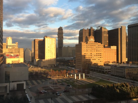 MGM Grand Detroit: From our hotel room