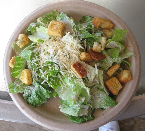 Elks Lodge: Lunch portion caesar salad