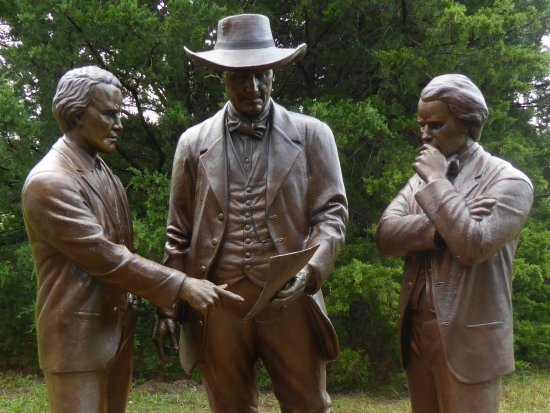 Bryan, TX: Elias Seale, Sam Houston, and Hiram Hanover