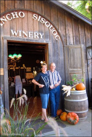 Rancho Sisquoc Winery: Front Entrance