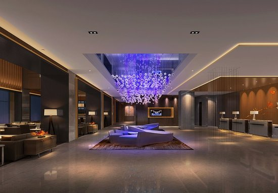 Xinchang County, Китай: Lobby
