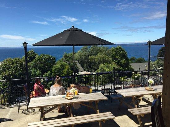 Turangi, Nueva Zelanda: The Deck