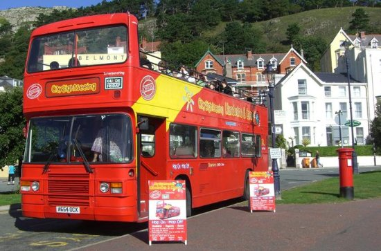 Llandudno City Sightseeing Hop-On...