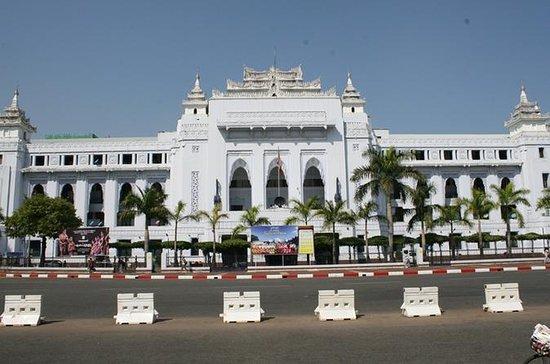 Yangon te voet Ochtendtour