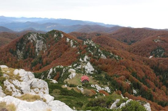 Day Hike in National Park Risnjak...