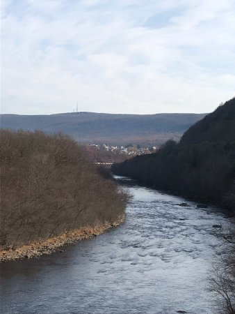 Jim Thorpe, Πενσυλβάνια: View from the train