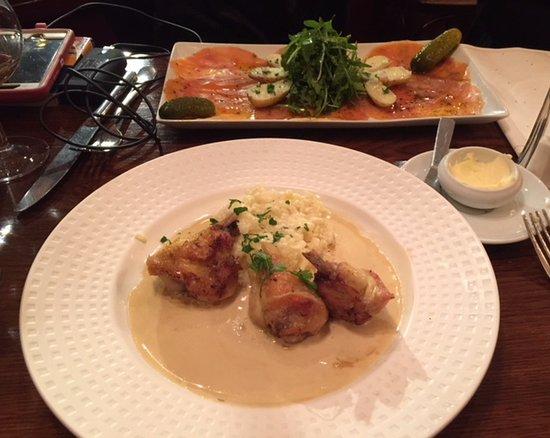 Chez Lena et Mimile : One of many tasty dishes