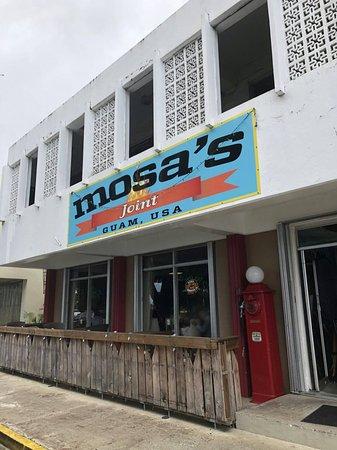 Mosa's Joint Restaurant, 店構え