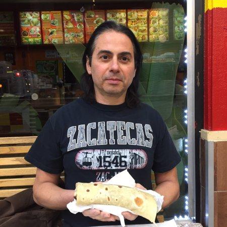 Alhambra, CA: Carne asada burrito