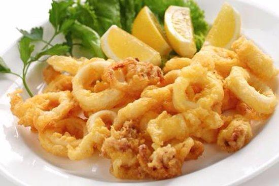 Warkworth, Nueva Zelanda: crispy calamari