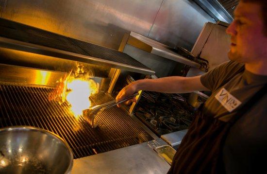 Avon, CO: Brandon crushes grill