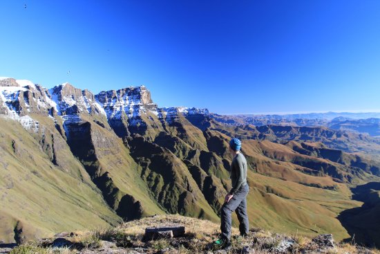Winterton, Sydafrika: Above the Ntonjelana Valley, northern Drakensberg