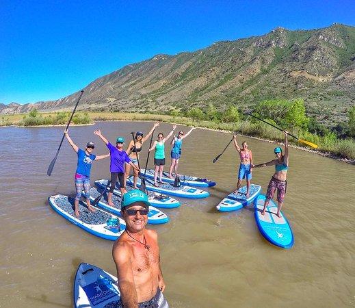 Carbondale, CO: PSUPA instructor training  at 3 Eagles Lake outside of Glenwood Springs, CO. Loving Life!