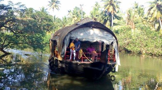 Aluva, India: Houseboat