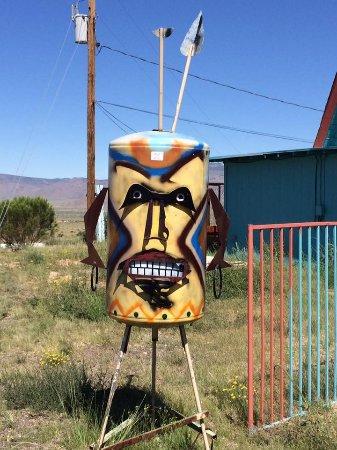 Kingman, Arizona: Greg's artwork