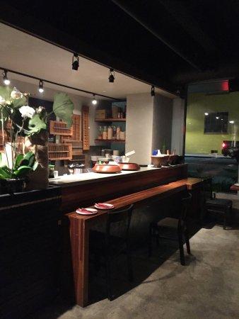 Emeryville, CA: Reception area at Summer Summer Thai Eatery