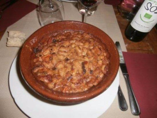 Hotel La Marbrerie: Cassoulet Cathare