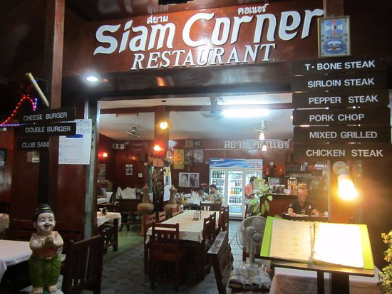 Siam Corner: It may look Western but there is good Thai food inside.