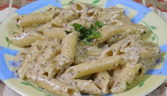 Cafe Ohiyo: White Sauce Pasta