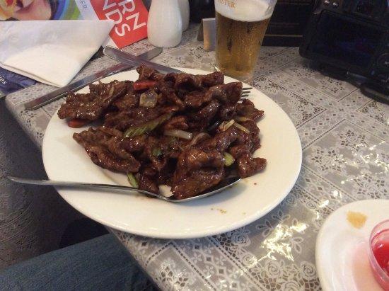 Talbingo, Australia: Mongolian beef