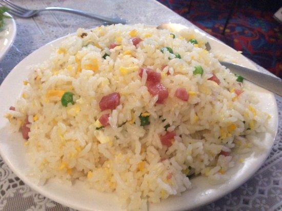Talbingo, Australia: Fried rice