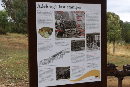 Adelong, ออสเตรเลีย: Interpretive sign - very well laid out