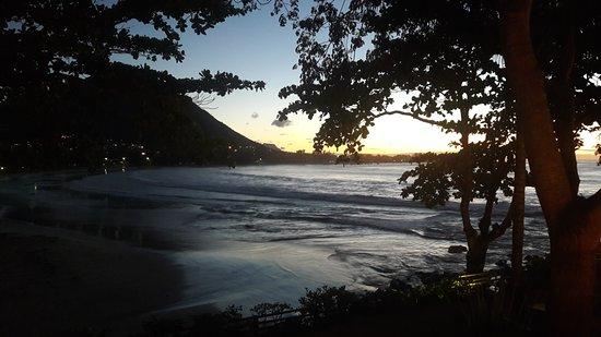 Tamarin Bay as evening falls
