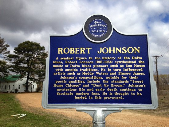 Greenwood, Миссисипи: Robert Johnson Road Marker