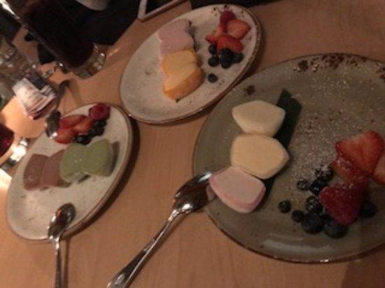 Katsuya: dessert