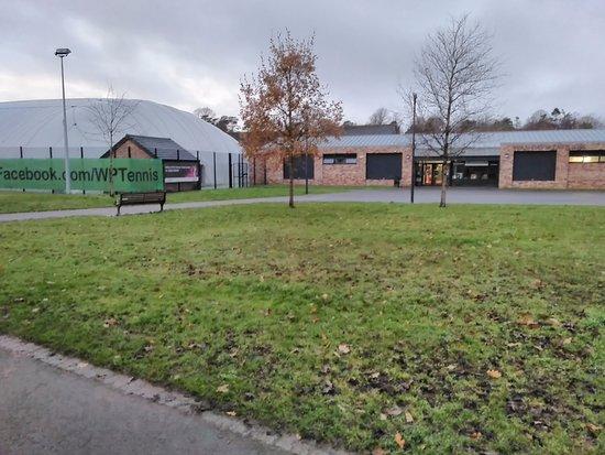 Lisburn, UK: Pavilion and Tennis Dome