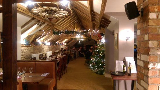 Rothley, UK: This photo was taken as we entered the restaurant