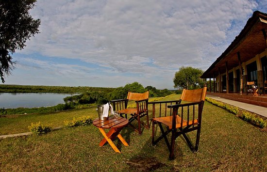 ‪‪Murchison Falls National Park‬, أوغندا: Set to relax outside the rooms‬
