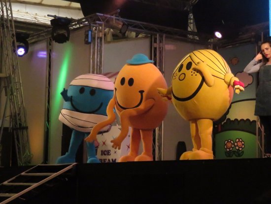 Butlin's Minehead Resort: We met the Mr. Men :)