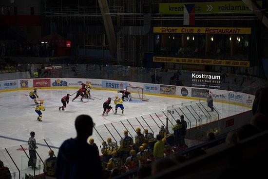 Retz, Österreich: Sponsoring HC Orli Znojmo