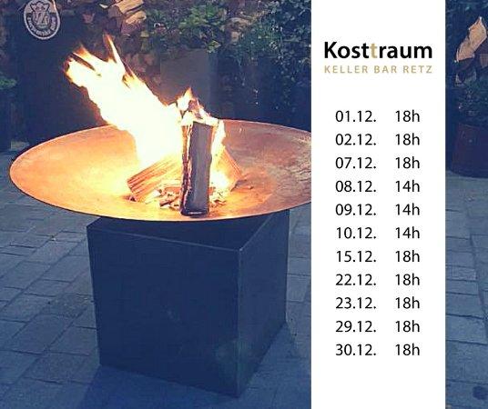Retz, Österreich: Kosttraum Keller Bar Termine Dez 17