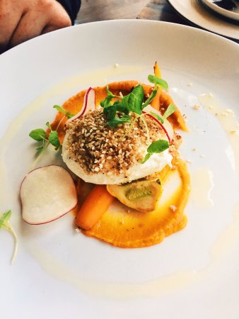 Huskisson, Australia: poached egg