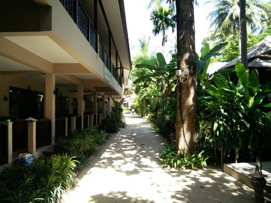 Chaweng Garden Beach Resort: The best place to stay ... Right on the beach ....