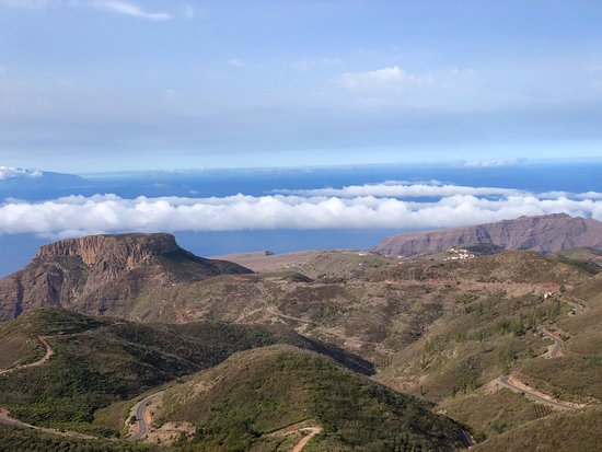 Alajero, Spain: some of the terrific views on La Gomera, where we walked and most of it lovely and quiet