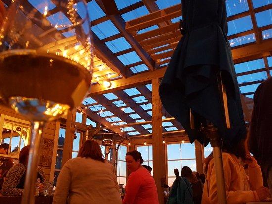Rustico, كندا: Ambiente im Blue Mussel Cafe
