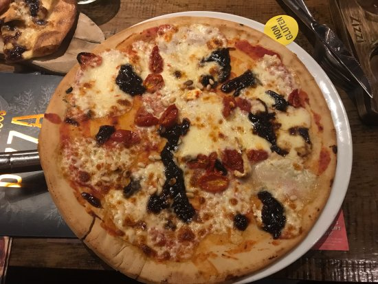 Dundrum, Irland: Lovely gluten free pizza
