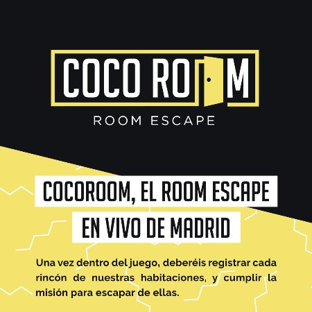 ‪Coco Room Madrid Room Escape‬