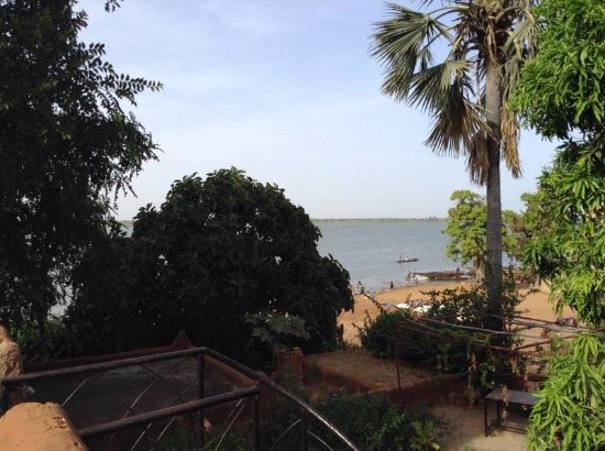 Segou, Mali: from terrace in front of junior suite