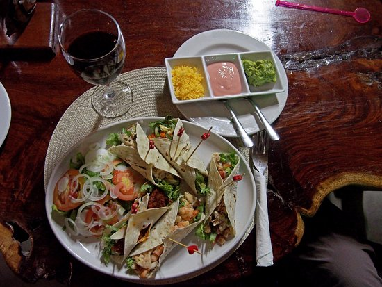 Tofo, Mozambique: Tacos of your choice