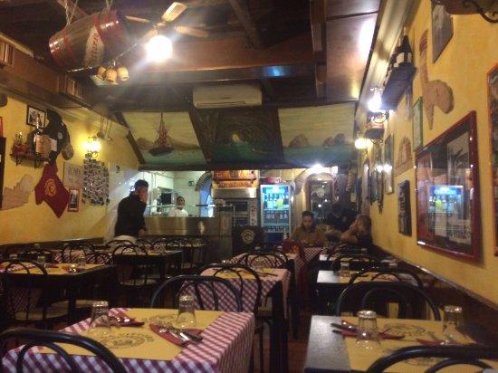Da Vittorio a Trastevere : La location a fine serata